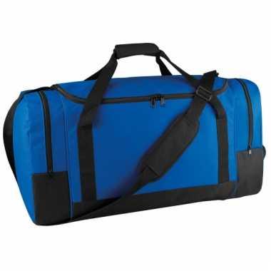 Grote blauwe weekendtas 85 liter
