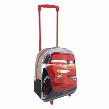 Goedkope rode 3d disney cars weekendtas/trolley jongens 31