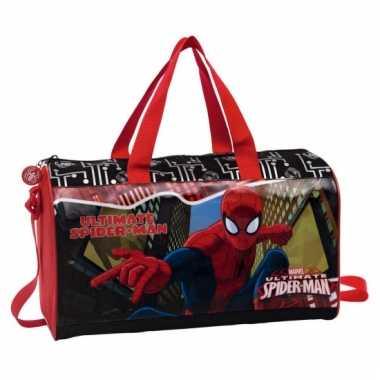 Spiderman weekendtas kinderen