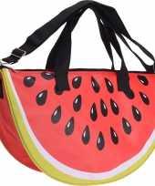 Strandtas weekendtas watermeloen 32 50